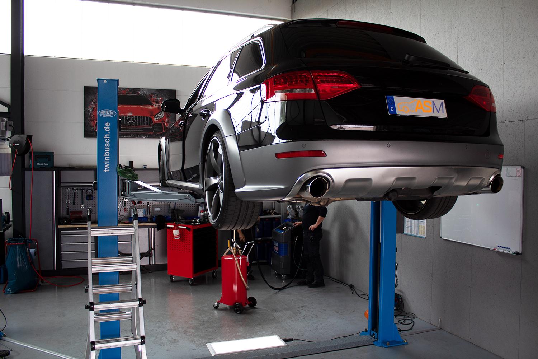 Getriebespülung Audi A6 S-Tronic Allroad