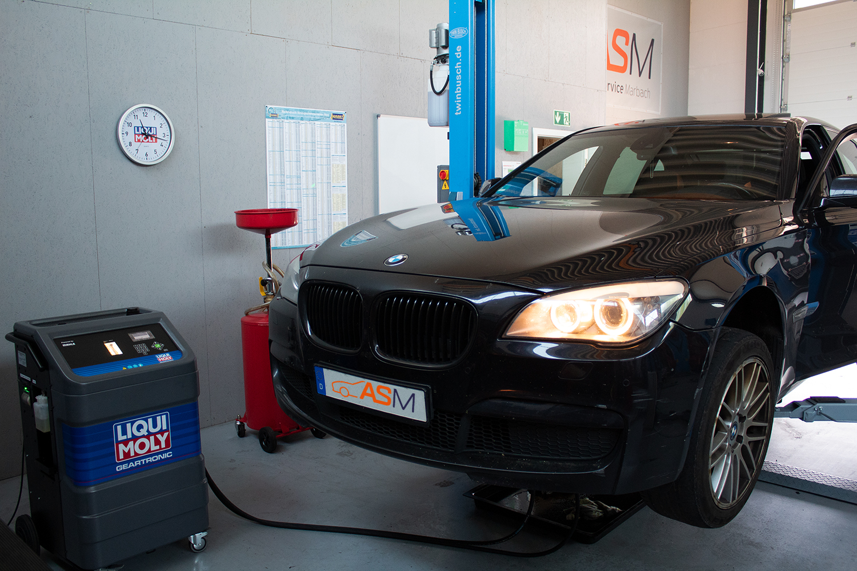Getriebespülung BMW 5er ZF8HP