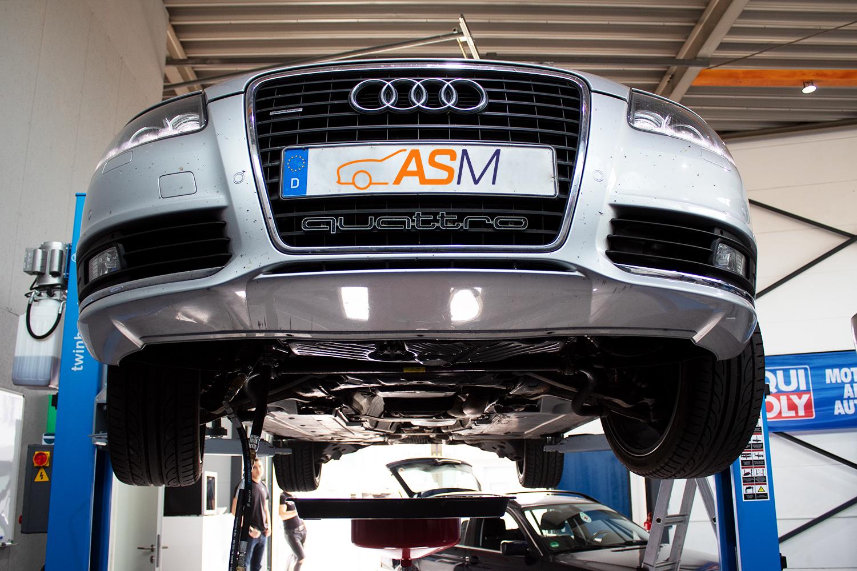 Getriebespülung A6 Audi CVT