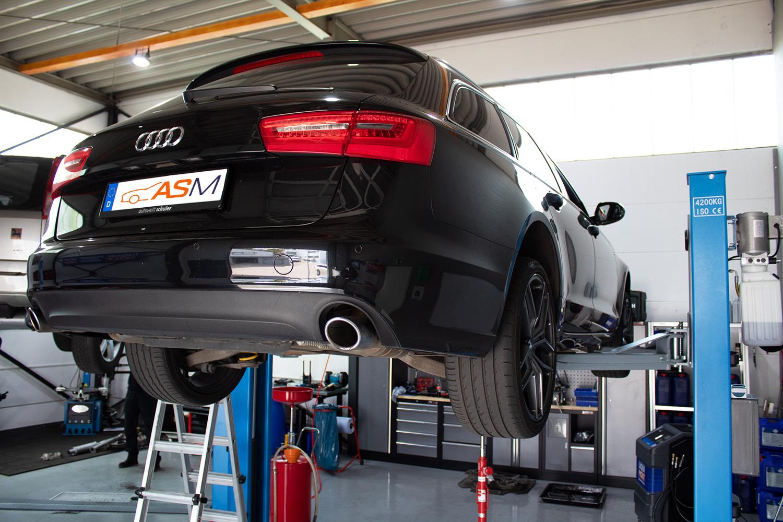 Getriebespülung Audi A6 CVT stufenlos