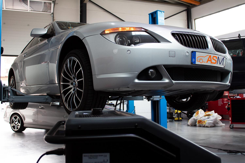 Getriebespülung 6er BMW 6HP24