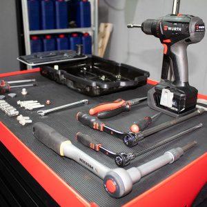 Werkzeug Getriebespülung